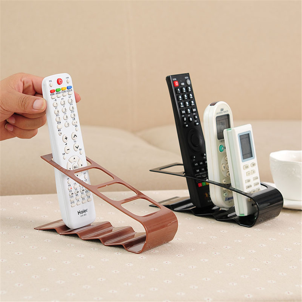 Portable Caddy Organiser TV DVD VCR Step Remote Control Mobile Phone Holder Stand Storage