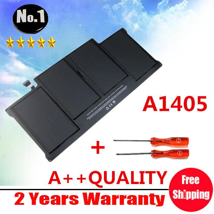 """Prix pour Gros Nouvelle Batterie d'ordinateur portable pour Apple MacBook Air 13 """"A1466 2012 année A1369 2011 production Remplacer A1405 batterie"""