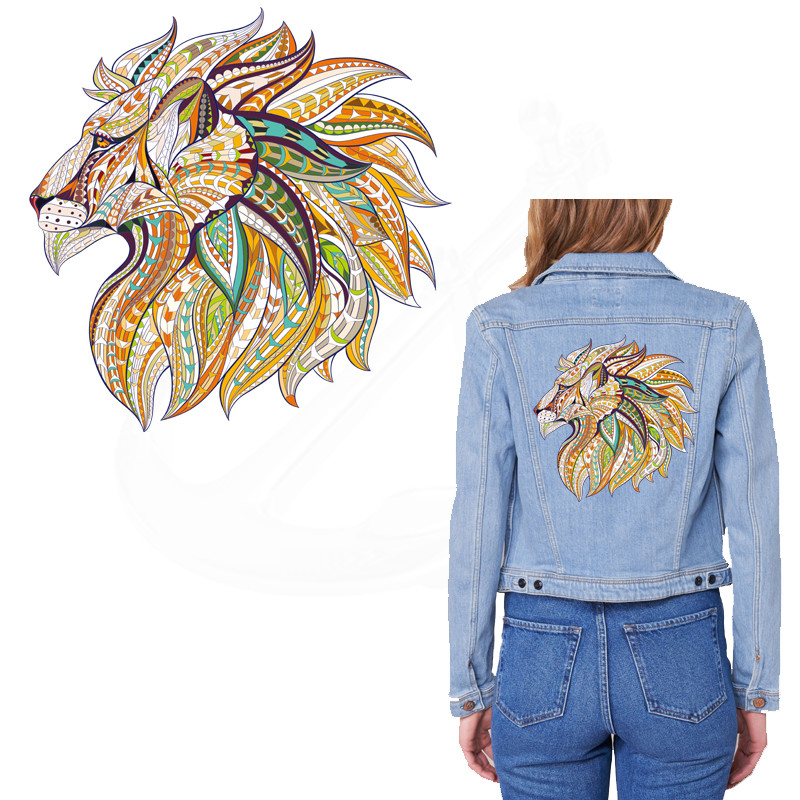 Aliexpress.com : Buy 2017 NEW patch for clothing lion 25 ...