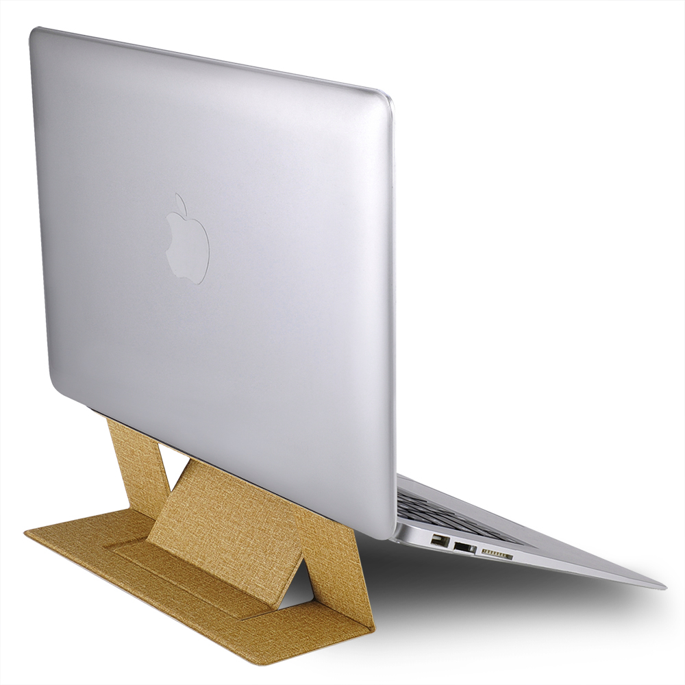 Foldable Ergonomic Laptop <font><b>Stand</b></font> for Macbook air pro <font><b>notebook</b></font> <font><b>Cooling</b></font> Portable computer tablet pc Riser(Lift Up) image