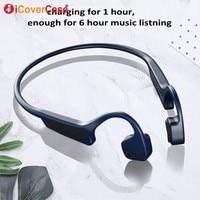 Bluetooth Earphone Headset For Oneplus 6 6T 5T 5 3T 3 one plus 1+6 T Wireless Headphone Bone Conduction Earpiece Phone Accessory