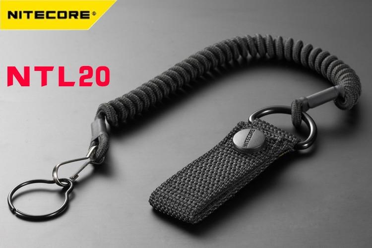 Nitecore Tactical Lanyard NTL20 f/ür Taschenlampen mit 25,4mm Geh/äusedurchmesser