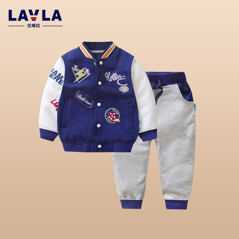 Kids Clothes Boys 2017 Baby Boys Spring Sport Coats And Jackets Pants Set Korean Fashion Children Clothing Sports Suit For Boy boys fleece jackets solid coat kid clothes winter coats 2017 fashion children clothing