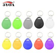Porte clés RFID, copie EM4305, 100 KHZ, Badge reinscriptible avec ID EM, Badge de proximité avec duplicata, 125 pièces/lot