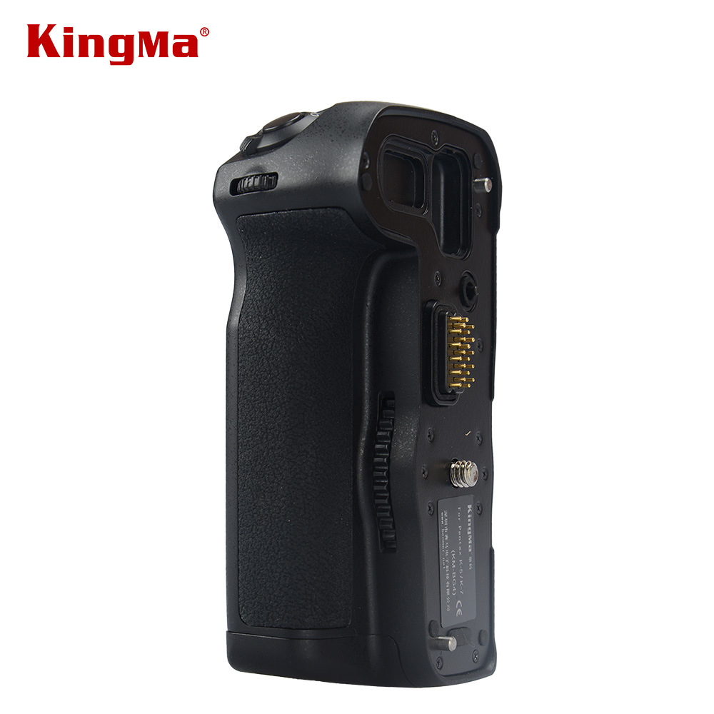 ФОТО KingMa KM-BG4 Multi-Power Vertical Battery Grip For PENTAX K7 K5 K5II K5IIS Digital SLR Camera Replace D-BG4 DBG4 Handle Grip