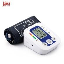 Nueva Pantalla LCD Digital Monitor de Presión Arterial de Medición Oscilométrico JZK-B869 Cargador USB Corazón RateMeasurement Dispositivo