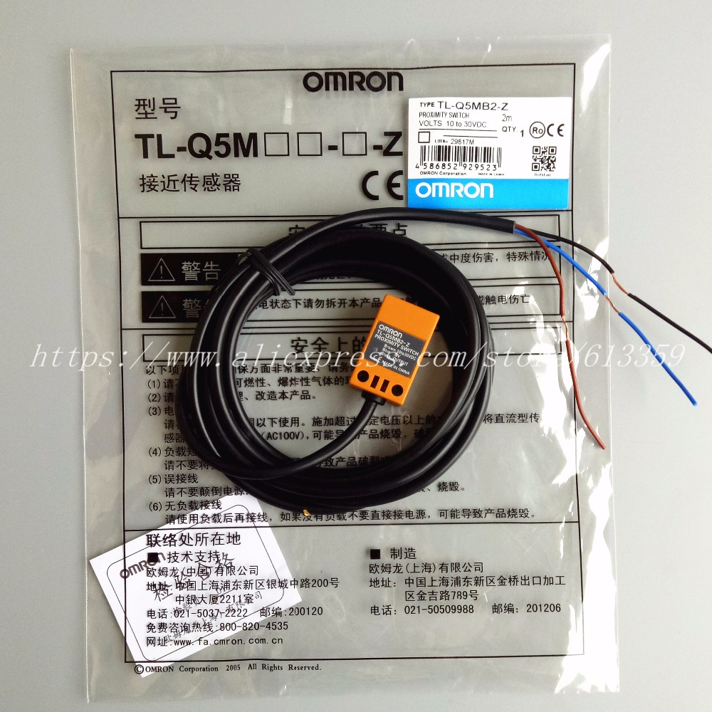 5PCS TL Q5MB2 Z PNP NC Omron Proximity Switch Inductive Sensor 3 Wire 10  30VDC-in Sensors from Electronic Components & Supplies on Aliexpress.com |  Alibaba ...
