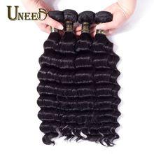 Brazilian Loose Deep Wave 10 Bundles Deal 100% Remy Human Hair Extensions Natural Color Brazilian Hair Weave Bundles 10-28inch