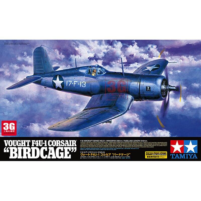 1/32 American F4U-1 Fighter of World War II Pirates Assembly Model 60324 стоимость