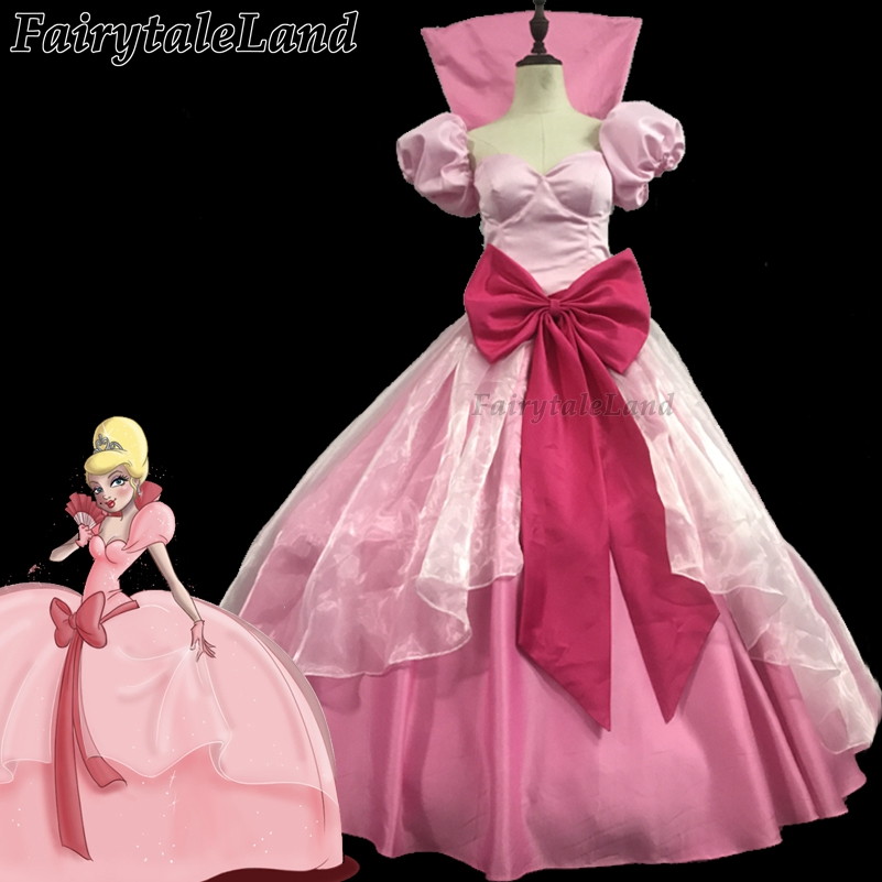 Princess and the Frog Tiana Cosplay Costume Carnival Halloween Costume Cosplay Princess Tiana Pink dress butterfly Fancy costume