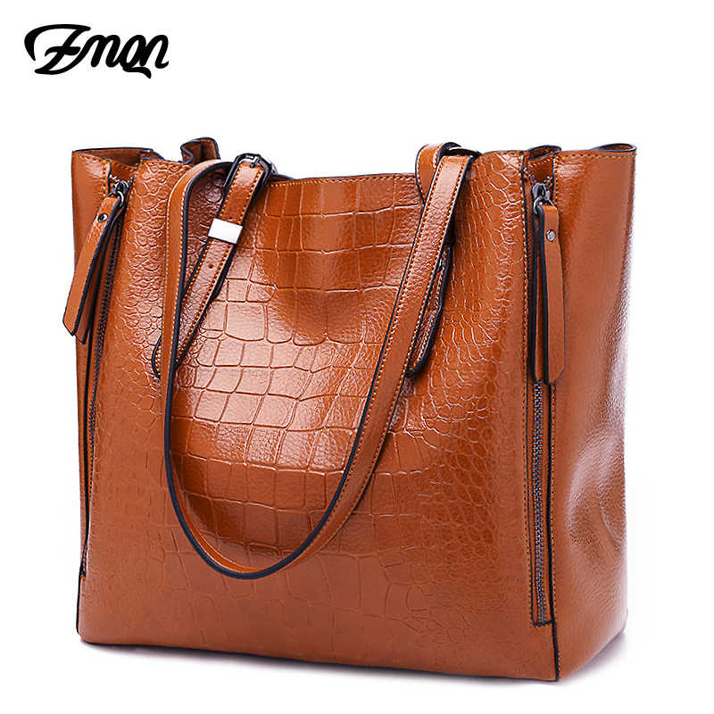 e0439539b6f5 ZMQN Luxury Handbags Women Bags Designer PU Leather Handbag Shoulder Bags  For Women 2018 Large Ladies