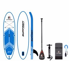 Inflable de Surf de pie SUP paddle Junta iSUP Surf Paddleboard SURFREN todo S1 wakeboard bodyboard kayakboat(China)