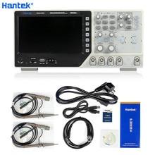 Hantek DSO4102C Multimetro Digitale Oscilloscopio 100MHz USB 2 Canali LCD Generi Visualizzazione Della Forma Donda