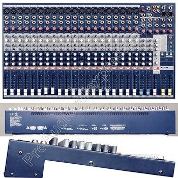 Профессиональный 20way EFX20 20 каналов караоке микрофонный микшер 48 В звук микшерный пульт для сцены