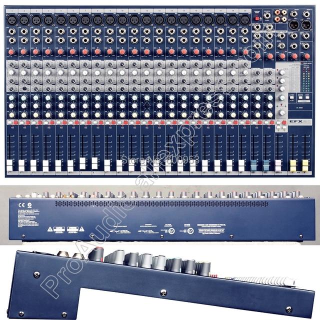 Профессиональный 20way EFX20 20 канальный караоке микрофонный микшер 48 В звуковая микшерная консоль для сцены