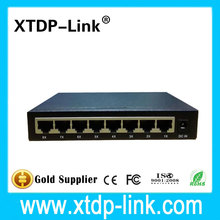 8 Port 10/100/1000Base Gigabit Ethernet Network Switch HOT