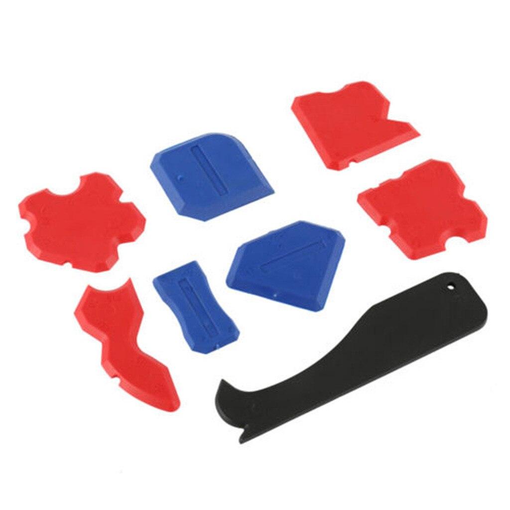 Новое поступление 8 шт./компл. герметик шпатель набор инструментов для чеканки шарнир силиконовый скребок для удаления решетки Лидер продаж дропшиппинг