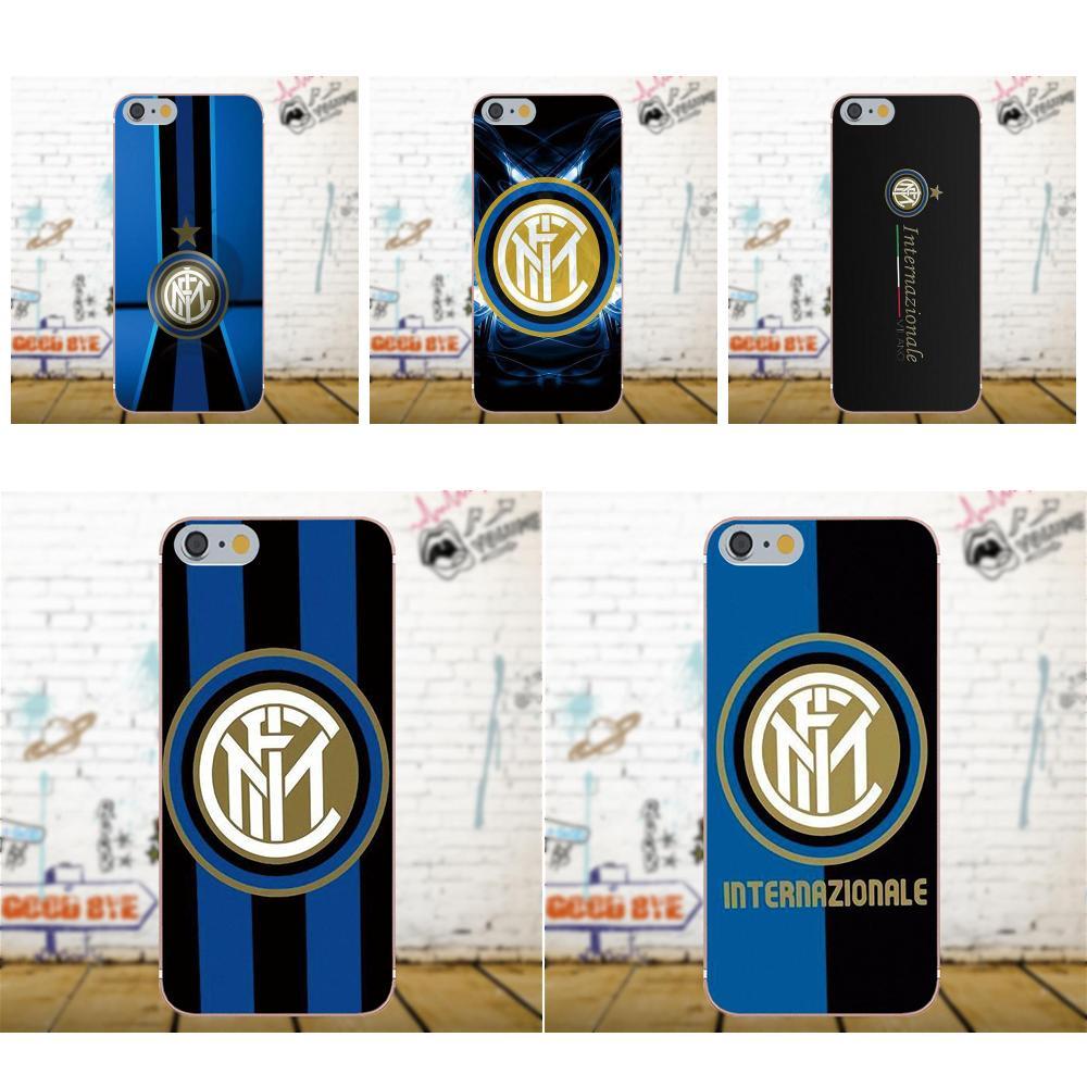 Oedmeb Inter Milan Football Club Logo For Apple iPhone X 4 4S 5 5C 5S SE 6 6S 7 8 Plus For LG G3 G4 G5 G6 K4 K7 K8 K10 V10 V20