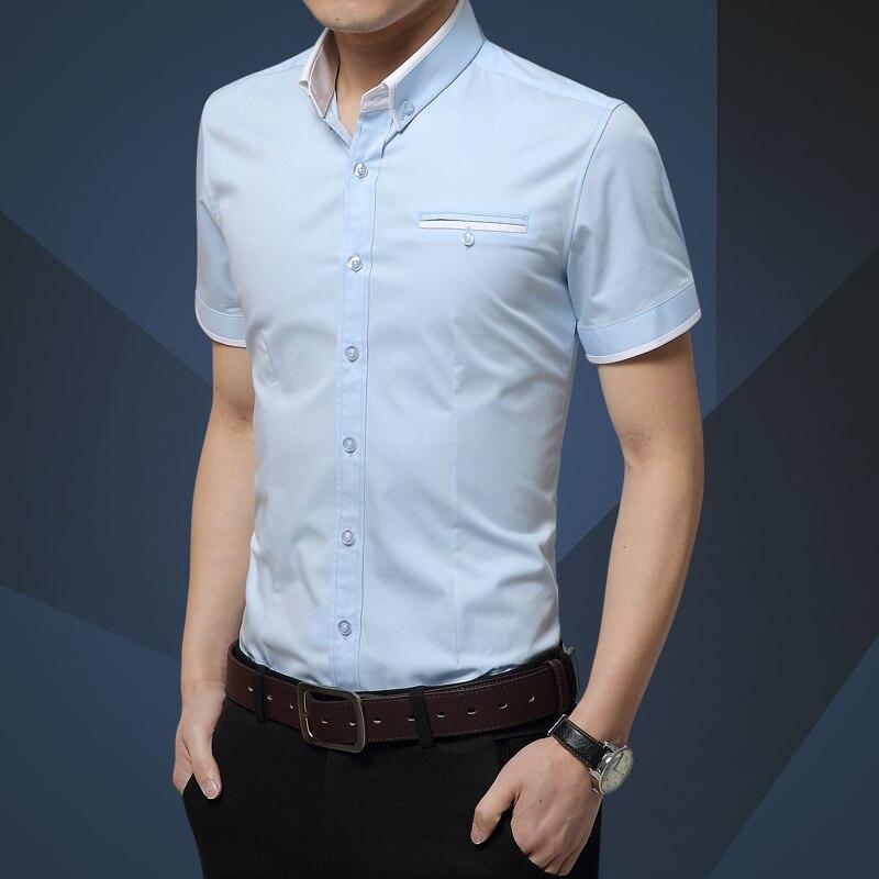 66b92e36b0 Camisa vaquera de manga larga slim fit camisa de Otoño de moda de Hombre  Vaqueros camisa
