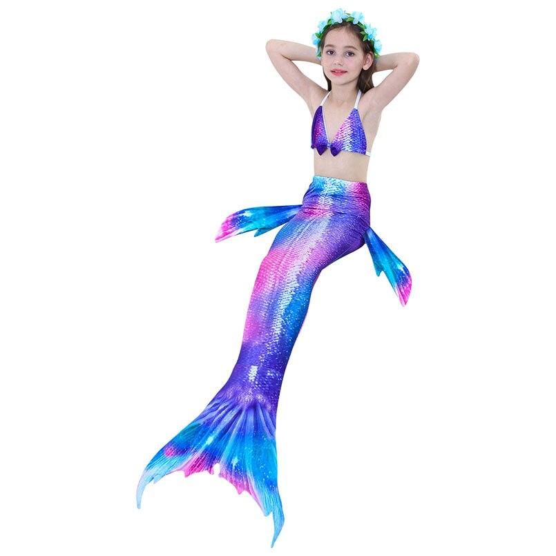 girls mermaid tail swimwear 5