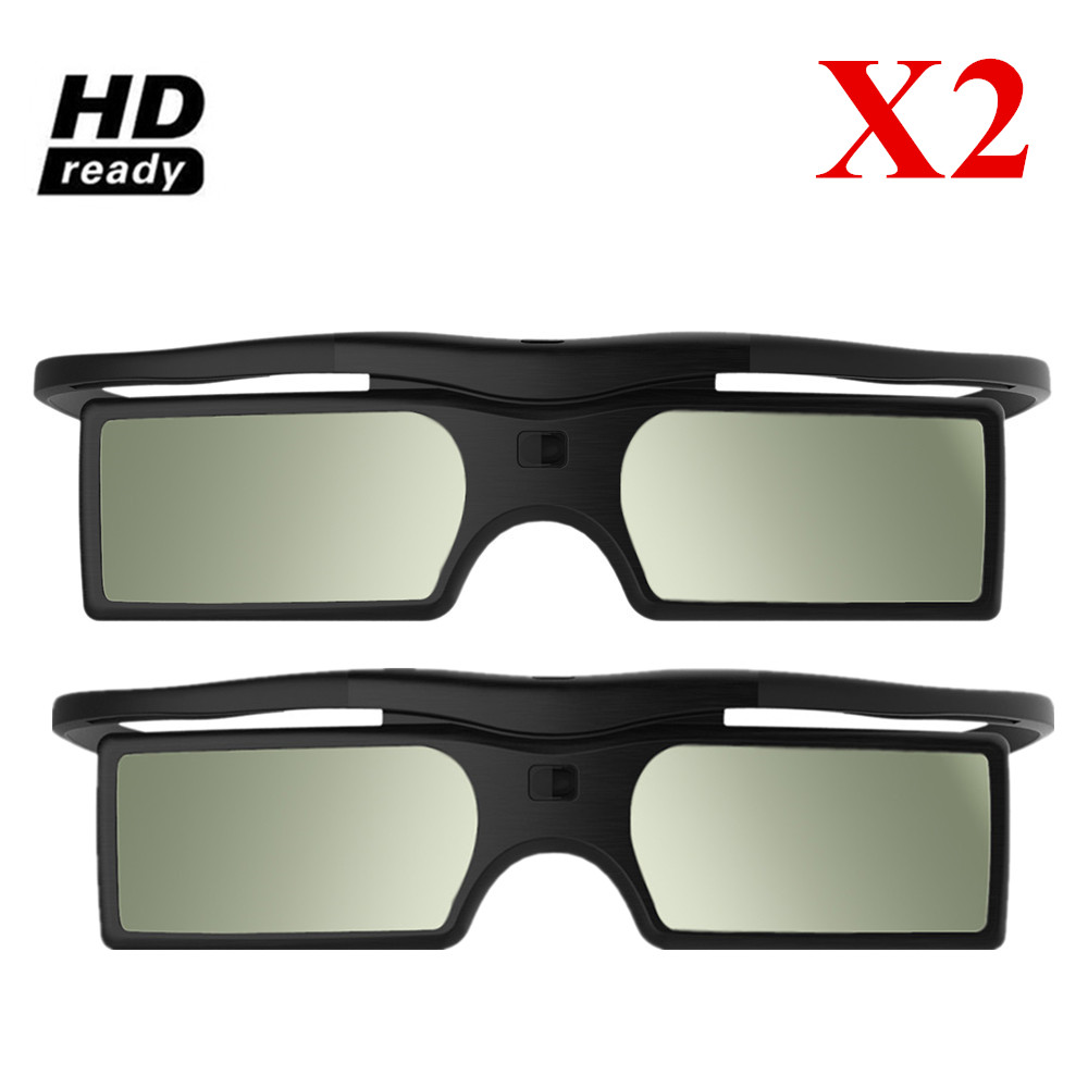HIGH QUALIT Bluetooth 3D Shutter Active Glasses for Samsung/for Panasonic for Sony 3DTVs Universal TV 3D Glasses(China)
