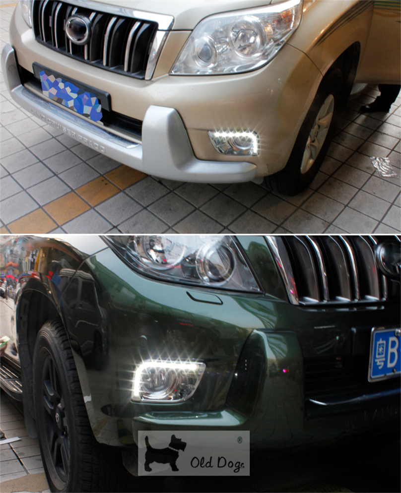 car flashing for toyota prado fj150 lc150 2010 2011 2013 for land