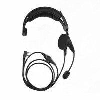 New Head mounted Telescopic Band Headphones for Kenwood TK3207 TK3107 TK2207 baofeng UV5R UV82 radios