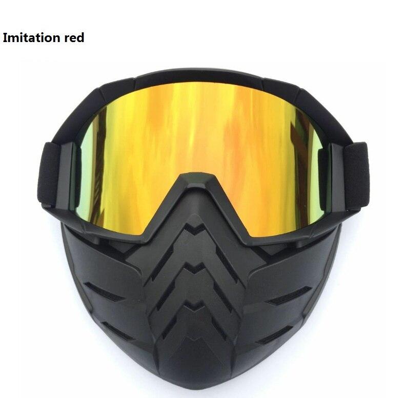 2018 Vintage Motorcycle Goggles Harley Motocross Aviator Pilot Cruiser Glasses ATV Dirt Bike Motor Helmet 5 Colors