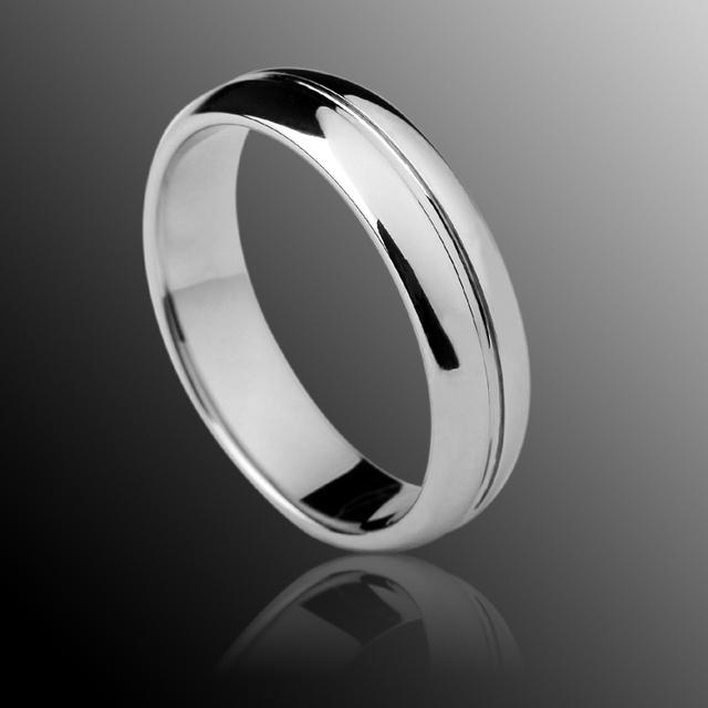Clássico anéis de casamento de tungstênio Dome banda Comfort Fit 3.5 mm / 5 mm masculino ou mulheres frete grátis