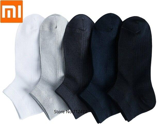 Xiaomi 365 nosić męskie oddychające skarpety wiosenne i letnie antybakteryjne skarpetki miękkie i wygodne męskie krótkie skarpetki