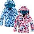 Brand Children Outerwear Coat Sporty Kids Clothes Double-deck Waterproof Windproof Boys Girls Jackets For 3-12T