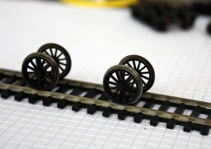 6pcs Lot 1 87 Model Train Ho Scale Steam Locomotive