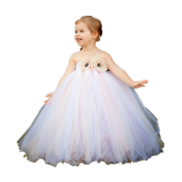 Baby Wow Cheap Baby Flower Girl Formal Gowns Wedding Dress For