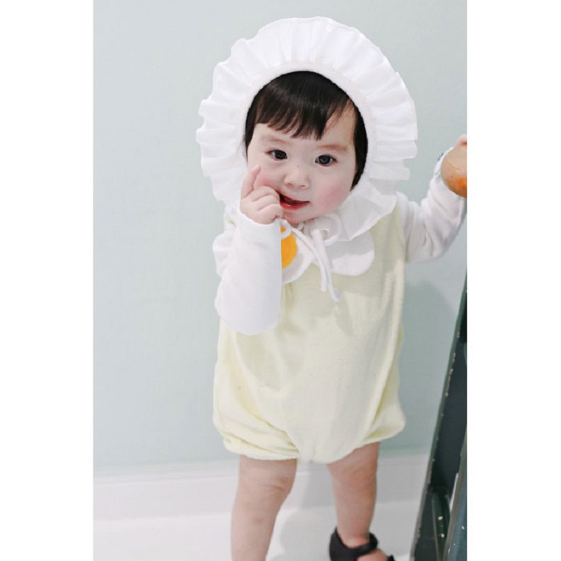 Newborn Baby Girl Summer Cute Egg Style Rompers Clothes Toddler Unisex Baby Cotton Sleeveless Photo Shoot Jumpsuit Romper Onesie 2017 new fashion cute rompers toddlers unisex baby clothes newborn baby overalls ropa bebes pajamas kids toddler clothes sr133