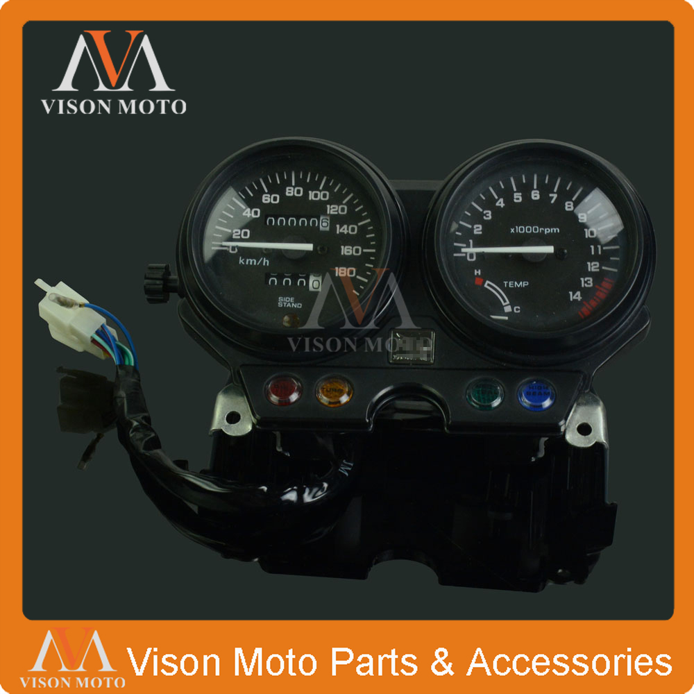 Мотоцикл спидометр часы инструмент манометры одометр тахометр для Хонда СВ-1