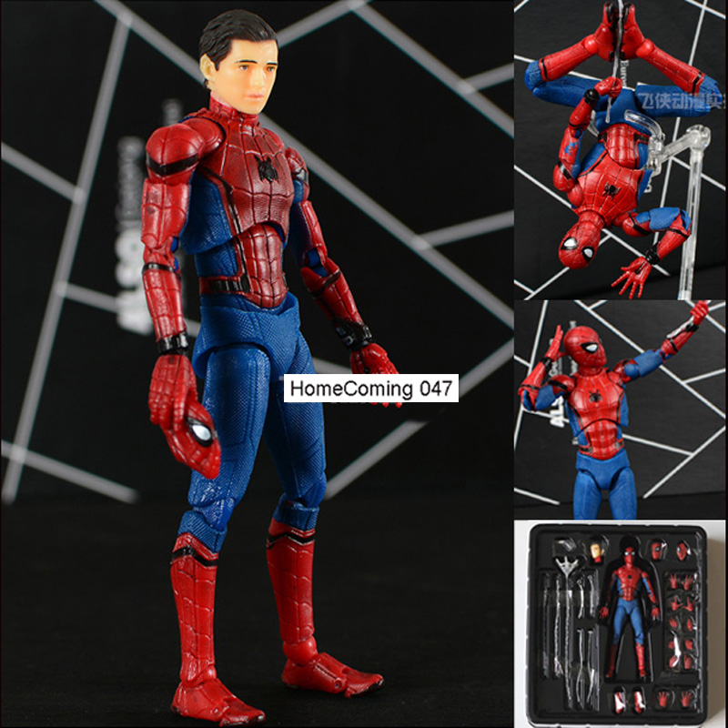 PVC Movable MAFEX No.047 Spider Man Homecoming Action ...