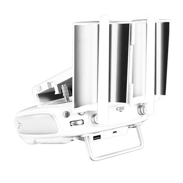US $3 99 20% OFF|silver Antenna Range Booster Controller Signal Extender  for DJI Phantom 3 Advanced /3 Professional /Phantom 4 /4 Pro /Inspire 1-in