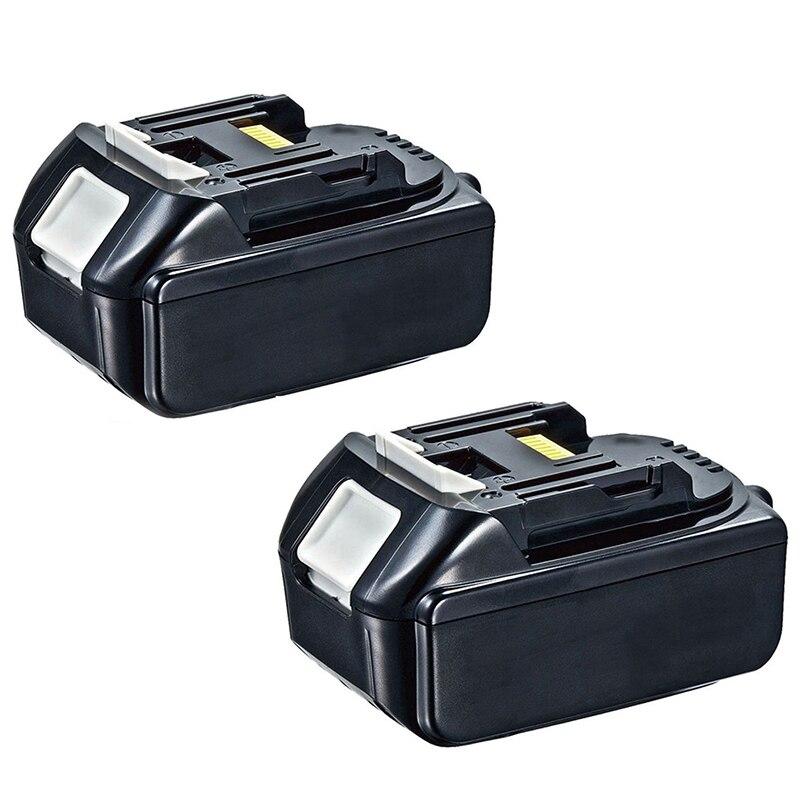 Top Deals 2x 18V 4.0AH Battery For Makita BL1840 BL1830 BL1815 LXT Lithium Ion Cordless