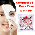 Skin Face Care DIY Facial Face Paper Compressed Masque Mask 50PCS Free Shipping