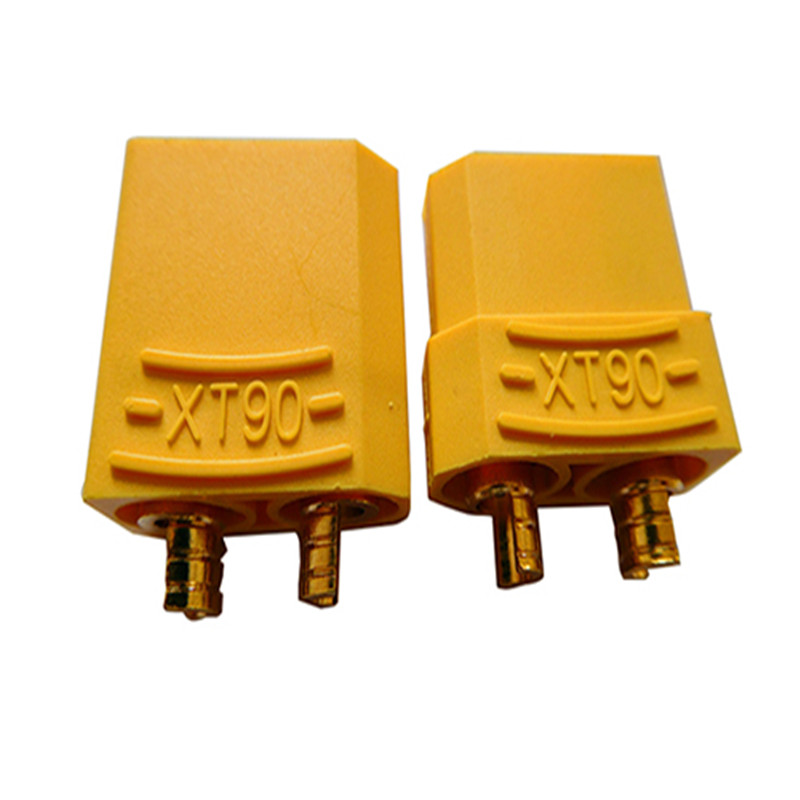 100pcs 50 pair XT90 XT 90 Plug Battery Connector 4 5mm Male Female Gold Plated Banana