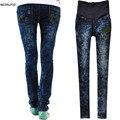 Hold Up Calças Barriga maternidade Jeans Denim Primavera Outono Zipper Arranhado Ripped Lápis Calças Roupas Grávidas w09