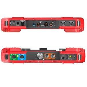Image 5 - Testeur de caméra de vidéosurveillance H.265 4K IP 8MP TVI CVI 5MP AHD CVBS, 7 pouces, le plus récent avec multimètre, compteur de puissance optique, DT A86