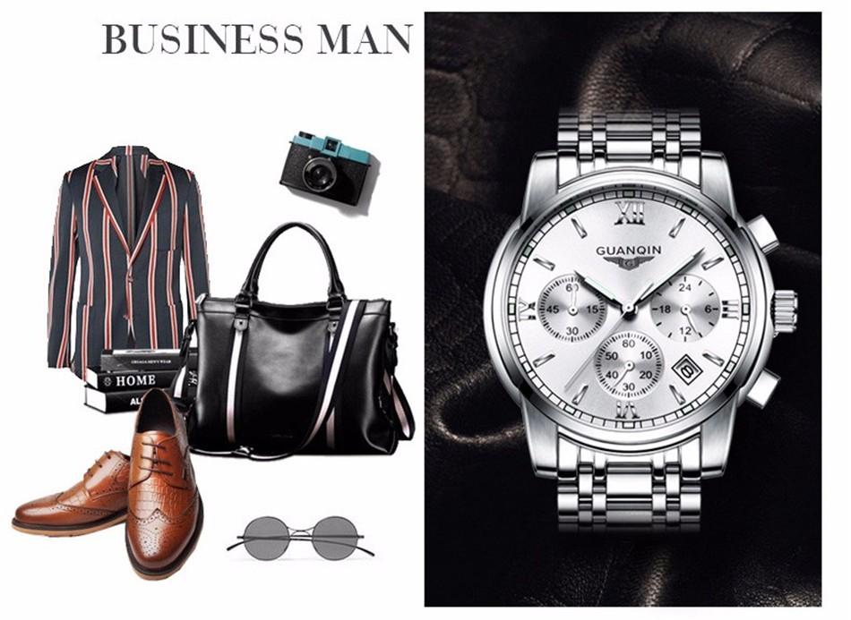 Moodne luksuslik käekell meestele