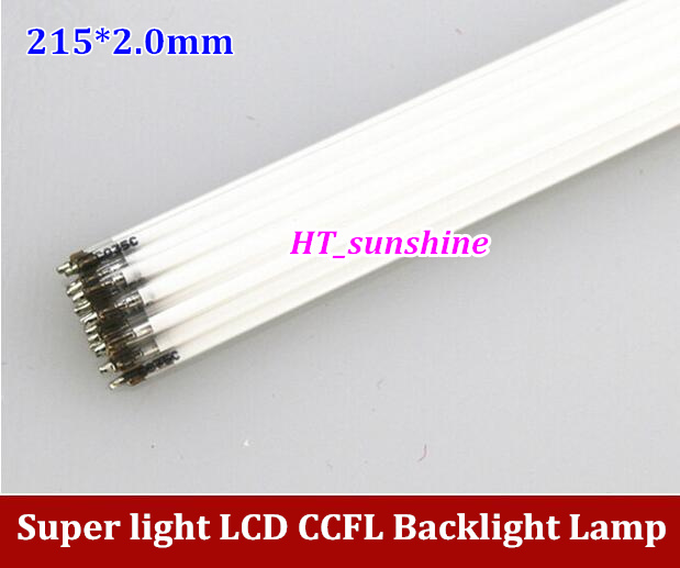 150PCS Free Shipping 215MM CCFL LCD Lamps 215x2.0mm LCD Backlight for LCD Monitors high quality