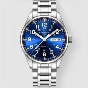 Image 5 - CarnivalกีฬาT25 Tritium Luminous Menนาฬิกาควอตซ์ยี่ห้อLuxuryนาฬิกาข้อมือผู้ชายนาฬิกาSaat Reloj Hombreแฟชั่นMontre