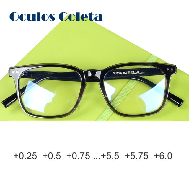 d33612ad5b72 Italy Cellulose Acetate Reading Glasses for Men and Women Mazzucchelli  Oversize Best Gift