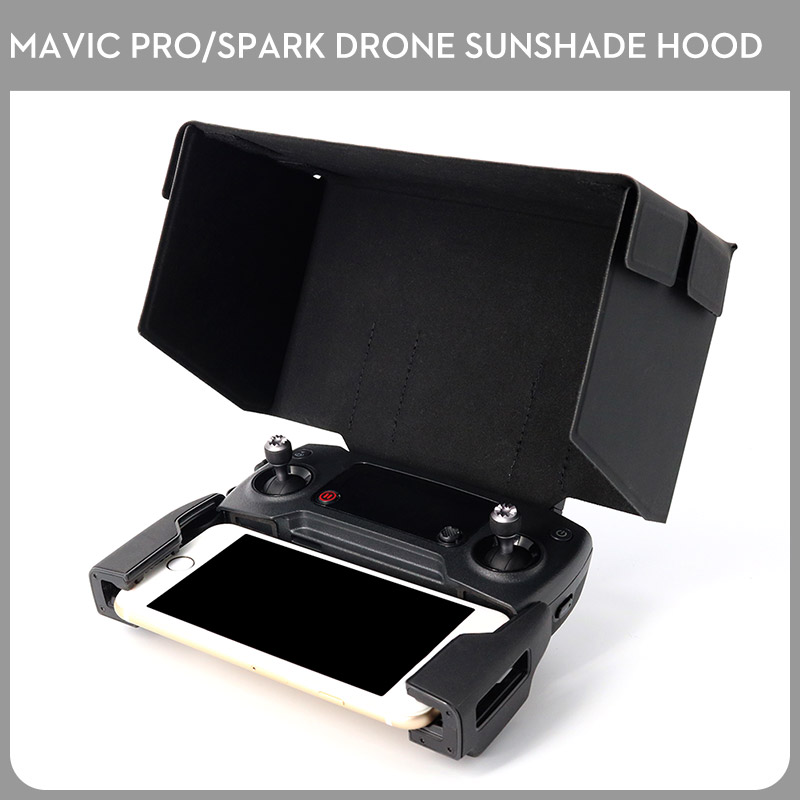 Brand New Mavic pro Air Spark font b Remote b font Controller Sunshade Screen Cover Monitor