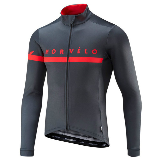 59b6a4a1a Morvelo Cycling Jersey For Men Road Bike Pro Team Cycling Wear Ropa Ciclismo  Quick Dry Long Sleeve Jersey With Spring Autumn
