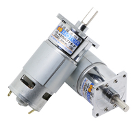 1 pcs 42GA775 DC geared motor 12V/24V High Power High torque motor Can Adjustable speed and direction control small motor 25W