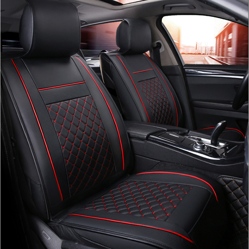цена car seat cover auto seats covers for volkswagen vw jetta mk5 6 mk6 passat b3 b5 b5.5 b6 b7 b8 cc touareg of 2010 2009 2008 2007
